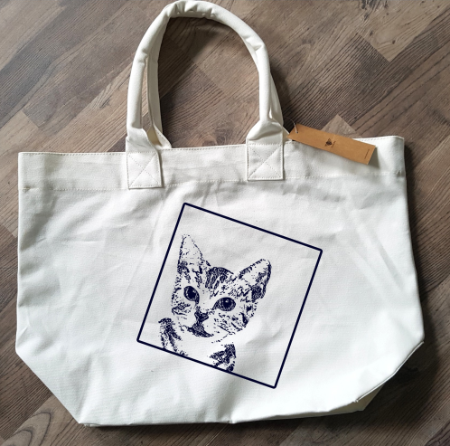 Shopper - Tasche mit Bild von Ihrem Haustier - Shopper with pic of your pet