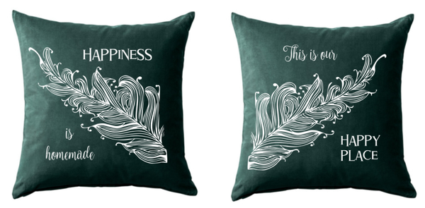 "2er Set Kissen ""Happiness"" - Set of 2 Cushions ""Happiness"""